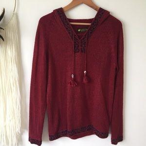 Tops - Authentic alpaca wool hoodie